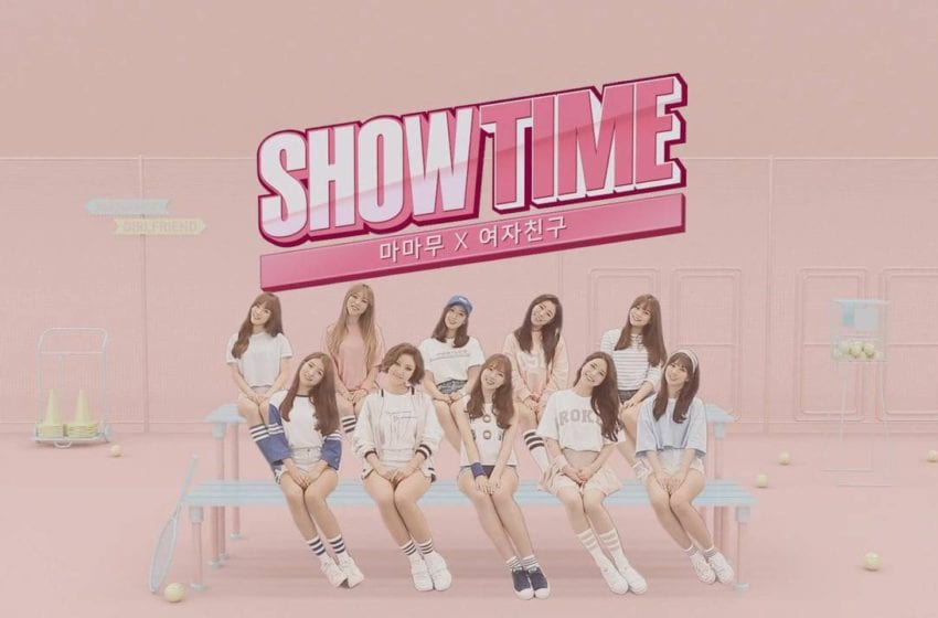 """MAMAMOO And GFRIEND Release Poster for """"Showtime"""""""
