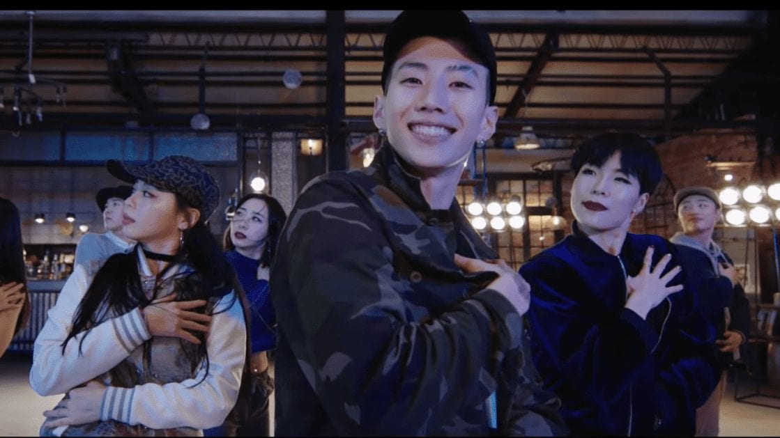"""Jay Park Is Kickin' It With 1MILLION Dance Studio In Dance Version For """"All I Wanna Do"""""""