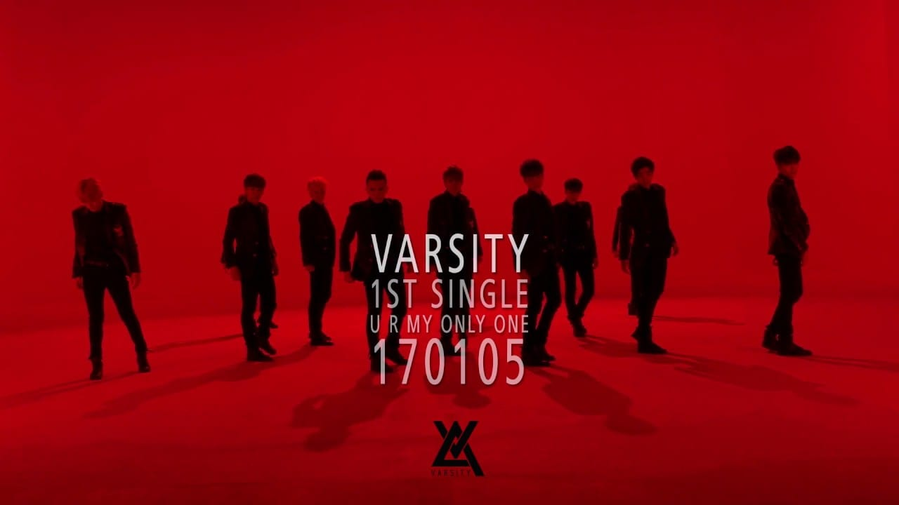 """Multicultural Group VARSITY Prepares For Debut With """"U R My Only One"""" MV Teaser"""