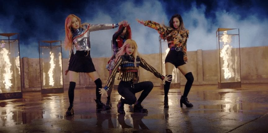 "BLACKPINK's ""Playing With Fire"" MV Shoots Past 100 Million Views, Sets New Record"