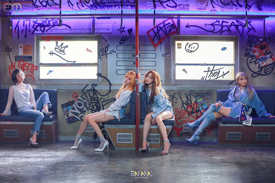 "WATCH: EXID Releases New Music Video ""Night Rather Than Day"""