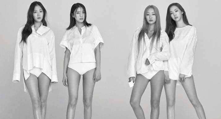 SISTAR Poses For Final Photoshoot In New Issue Of Cosmopolitan