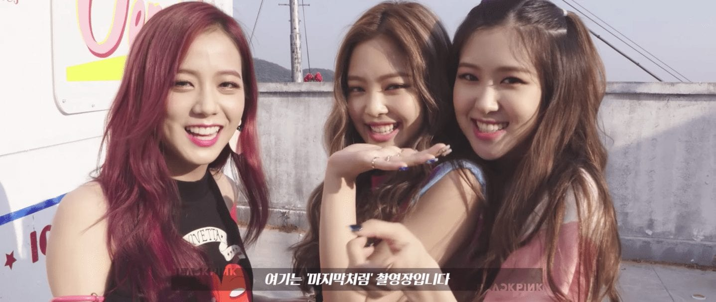 """BLACKPINK Drops Behind-The-Scenes Preview For """"As If It's Your Last"""""""