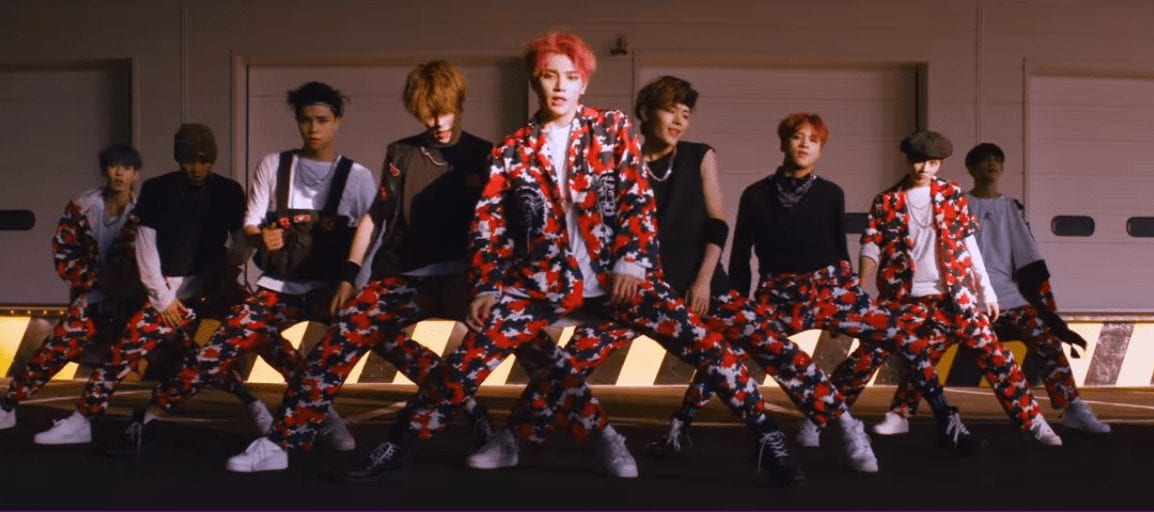 "WATCH: NCT 127 Gets Fierce In Teaser Video For ""Cherry Bomb"""