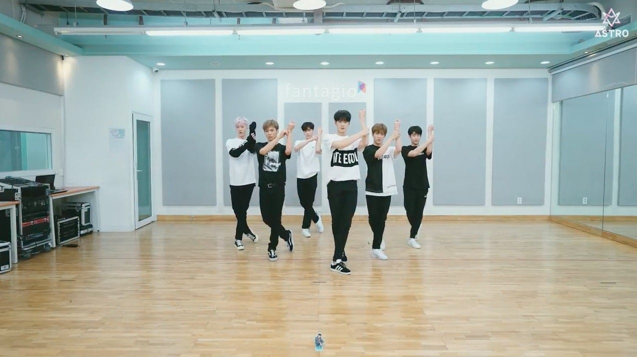 "WATCH: ASTRO Releases Cute Dance Practice Video For ""Baby"""