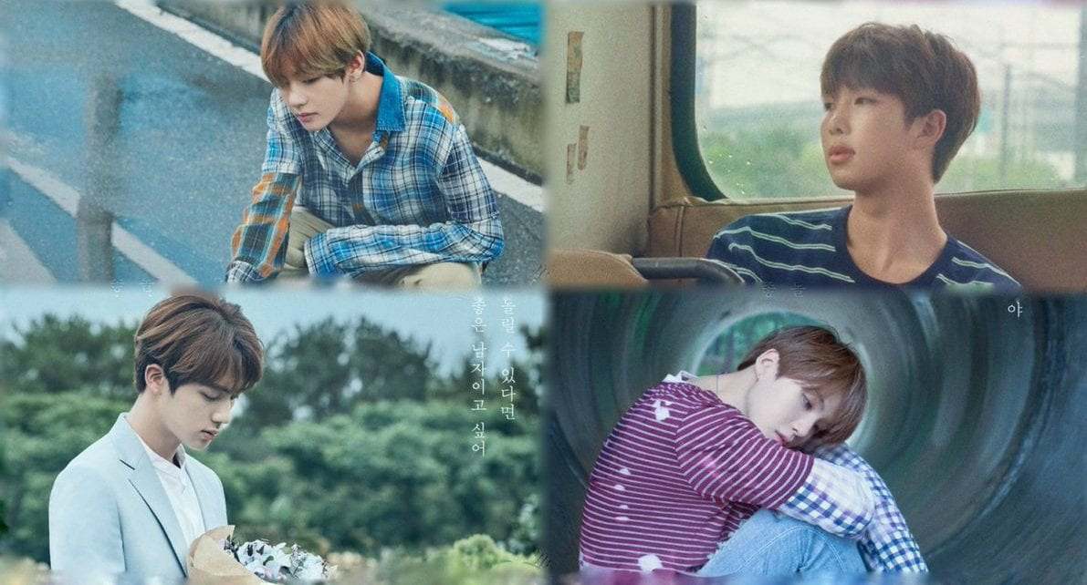 """BTS Drops Full Set Of """"Love Yourself"""" Concept Posters"""