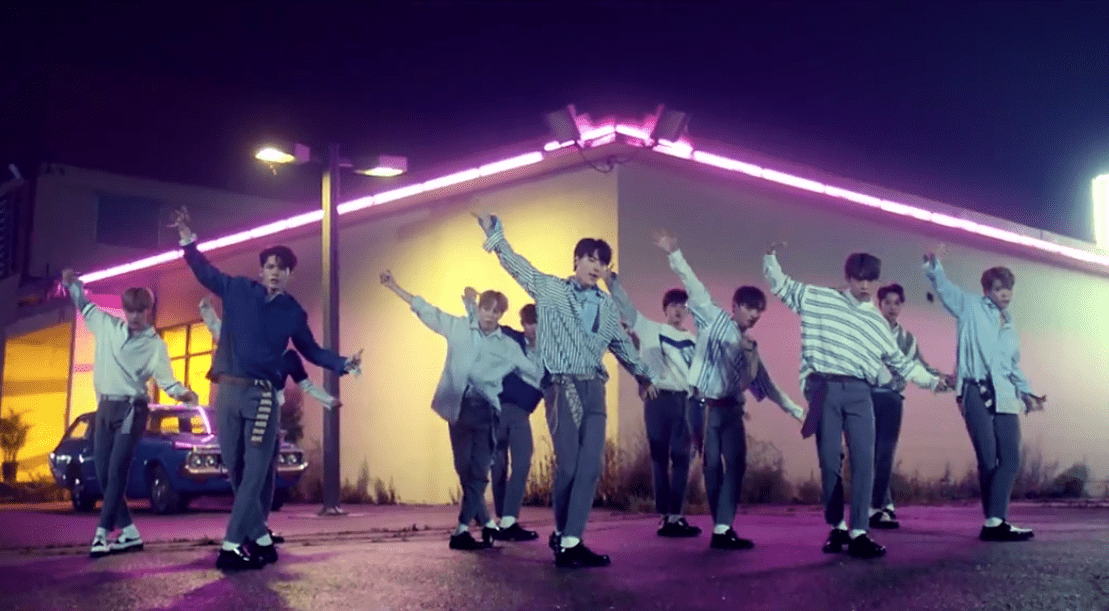 """WATCH: WANNA ONE Makes Official Debut With """"Energetic"""" MV"""