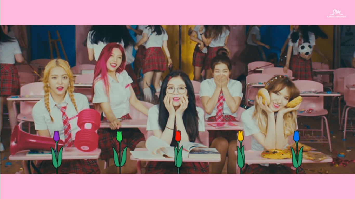 "WATCH: Red Velvet Charms In New ""Rebirth"" MV"