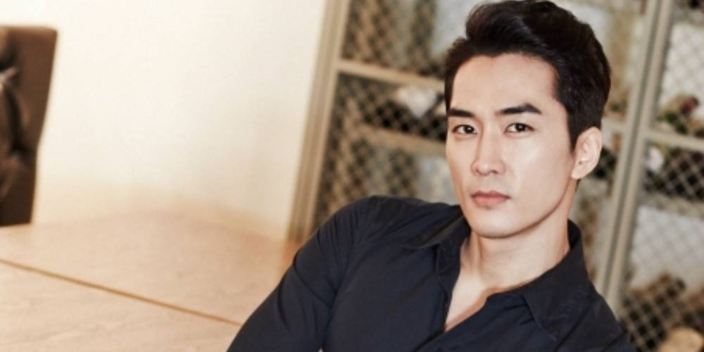 "Teasers Released Of Song Seung Heon As The Grim Reaper For ""Black"""