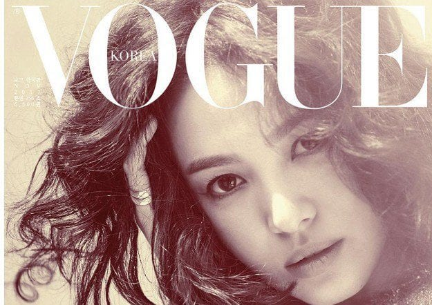 Song Hye Kyo Is Dazzling On Cover Of VOGUE Korea