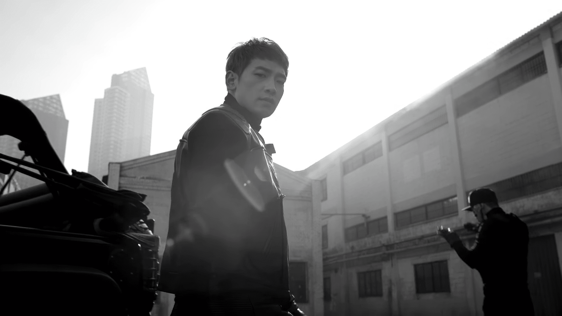 "WATCH: Rain Gets Fierce In Teaser Video For ""GANG"" MV"