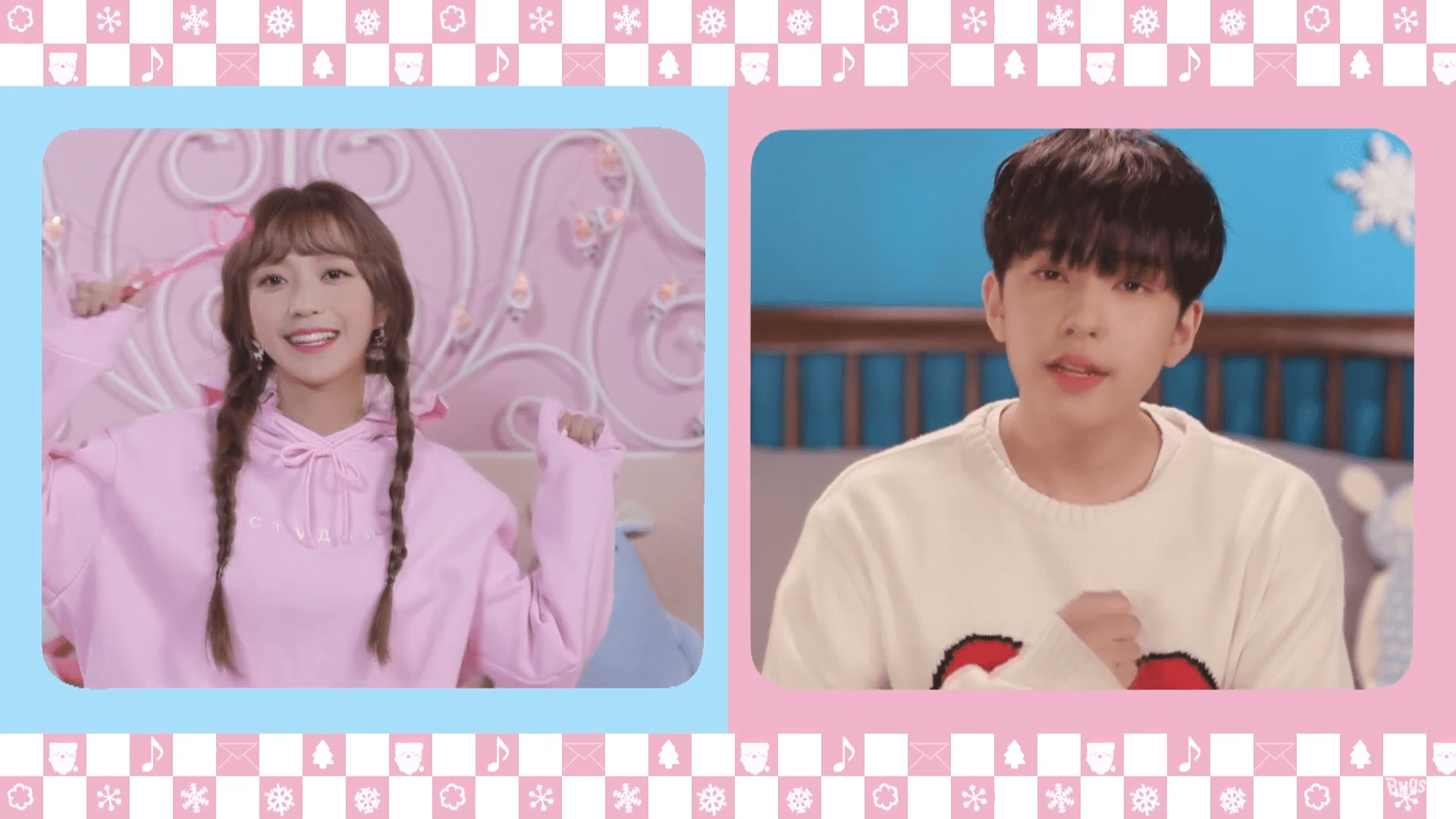 "WATCH: Kim Sohee and Kim Shihyun Release Adorable Duet ""Sweet Potato x 100"""