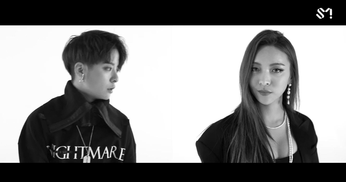 "WATCH: f(x)'s Amber And Luna Drop Exciting MV Teaser For ""Lower"""