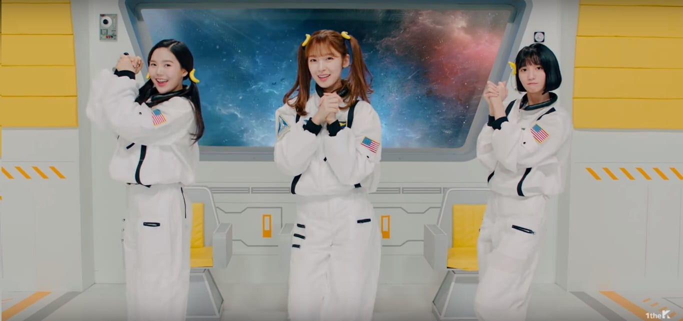 "WATCH: Oh My Girl BANHANA Unit Releases ""Banana Allergy Monkey"" MV"