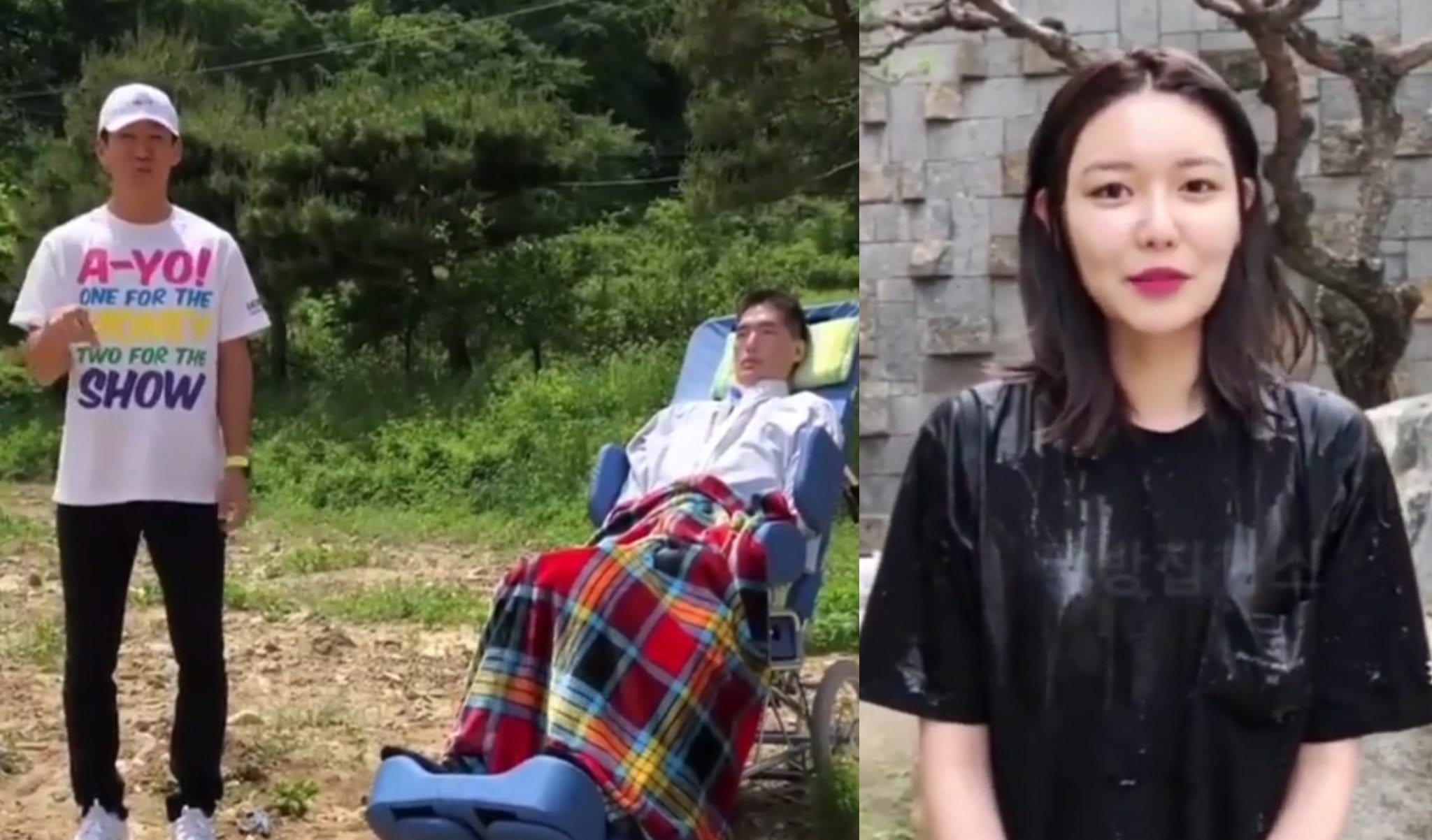 Jinusean's Sean Begins 2018 Ice Bucket Challenge + SNSD's Sooyoung Becomes First To Participate