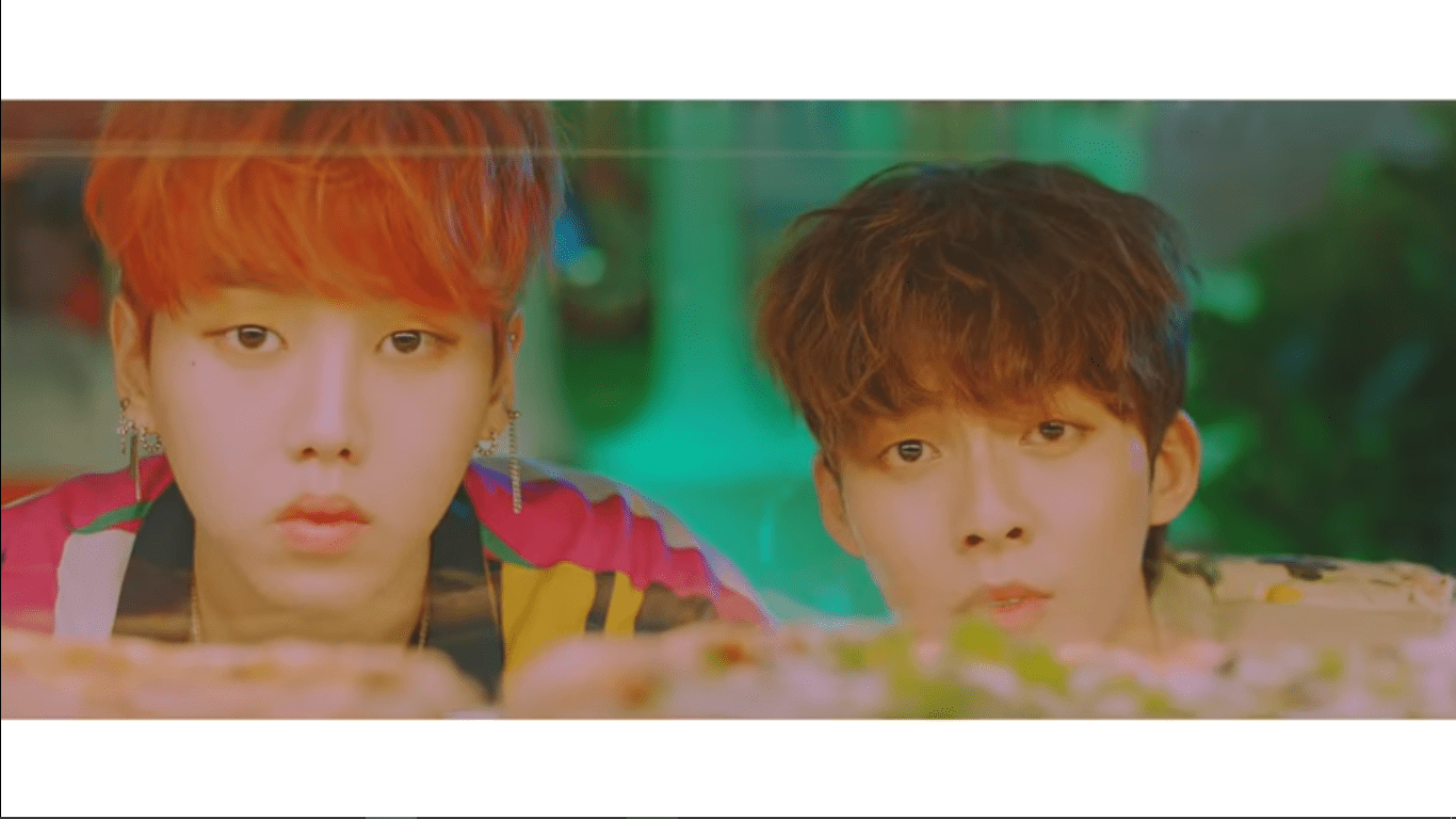 "WATCH: Woo Jin Young And Kim Hyun Soo Make Duo Debut With ""Falling In Love"" MV"
