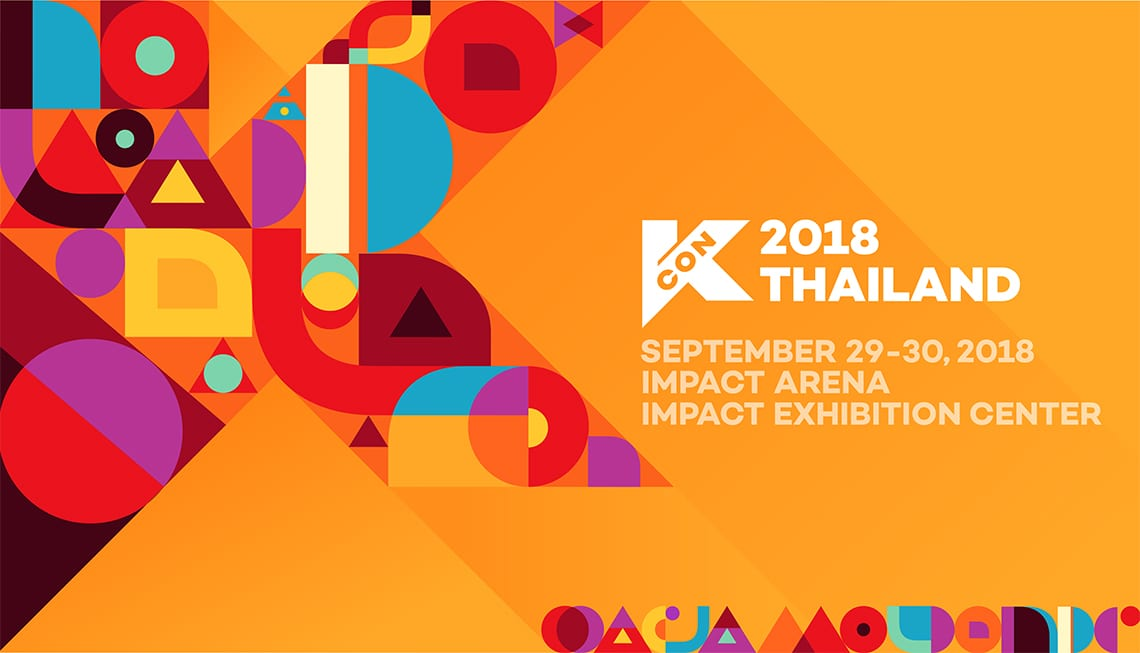 KCON 2018 Thailand Announces Final Artist Lineup