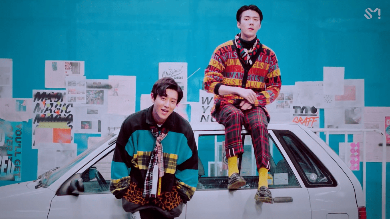 "WATCH: EXO's Chanyeol And Sehun Say ""We Young"" In New Collaboration MV"