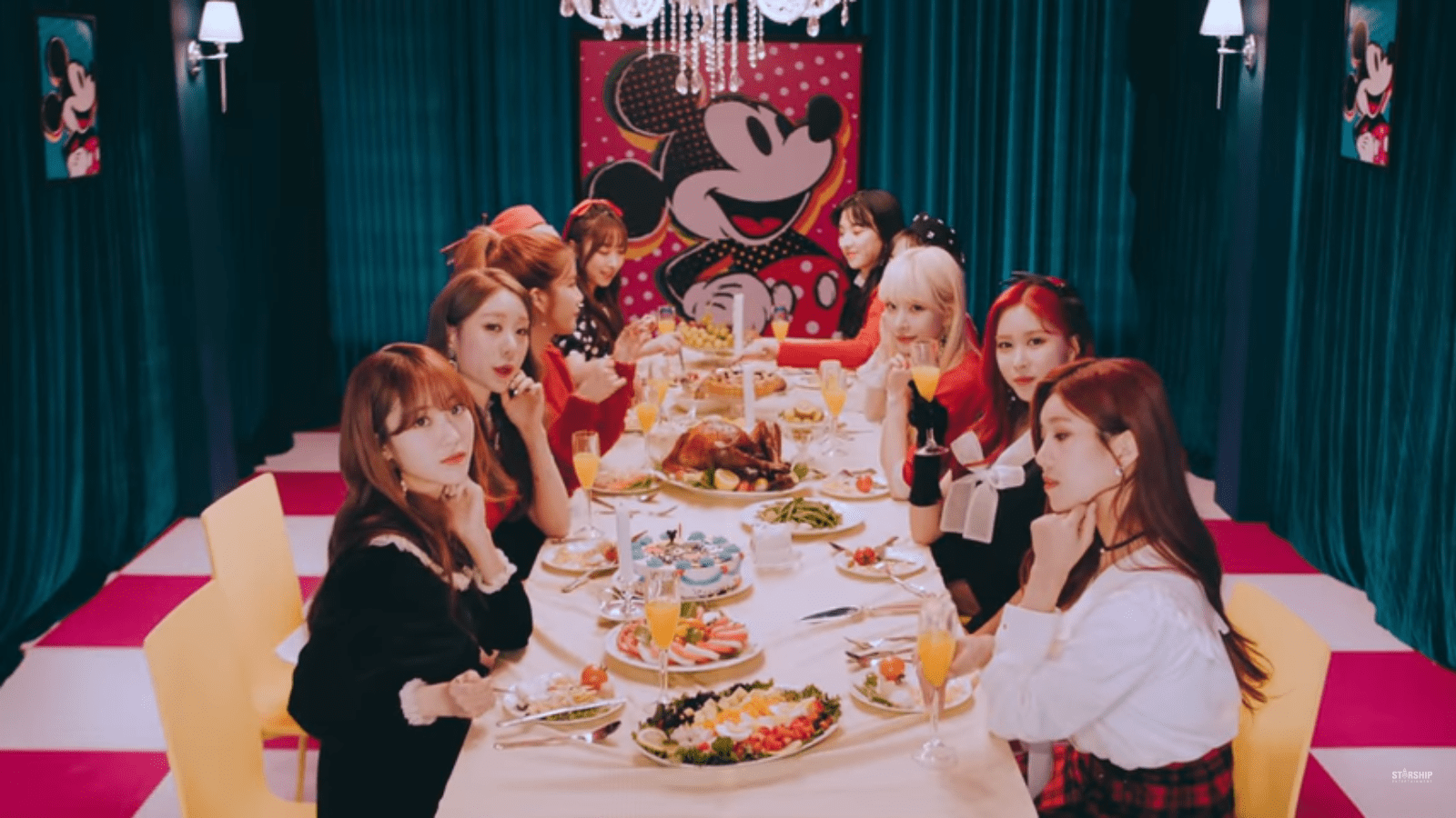 "WATCH: Cosmic Girls Release Special ""It's A Good Time"" MV With Mickey"