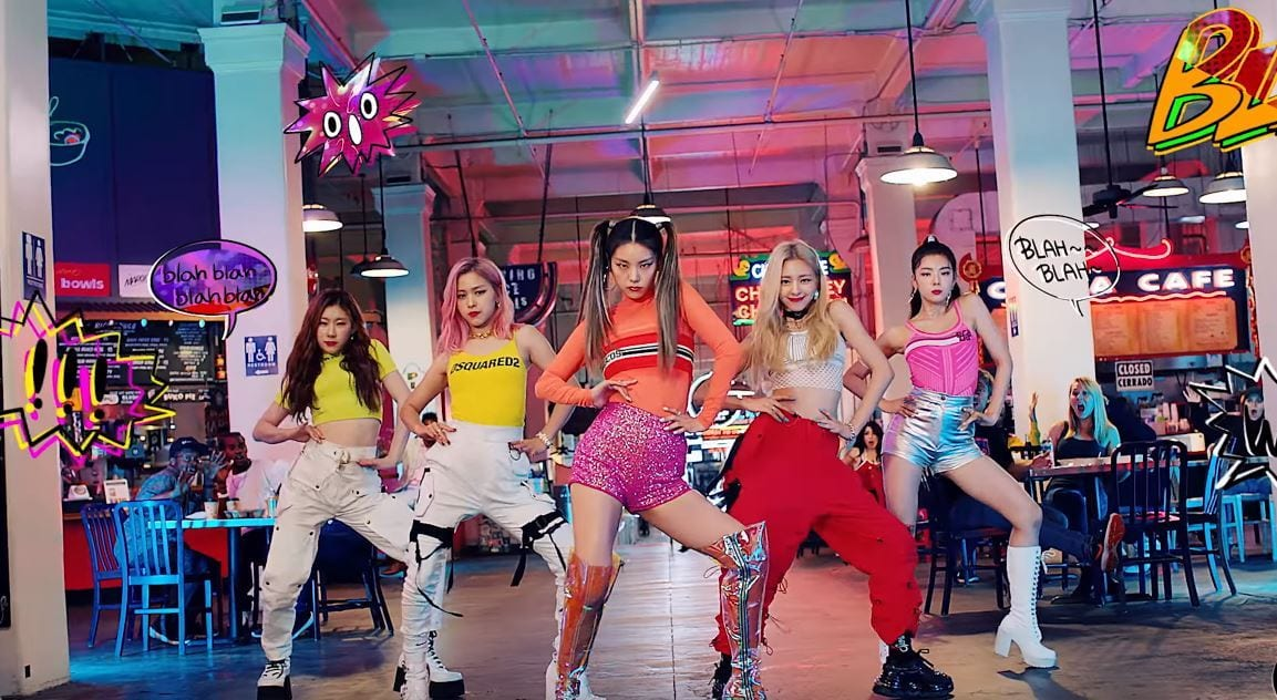 "WATCH: ITZY Drops Fierce Performance Video For ""ICY"""
