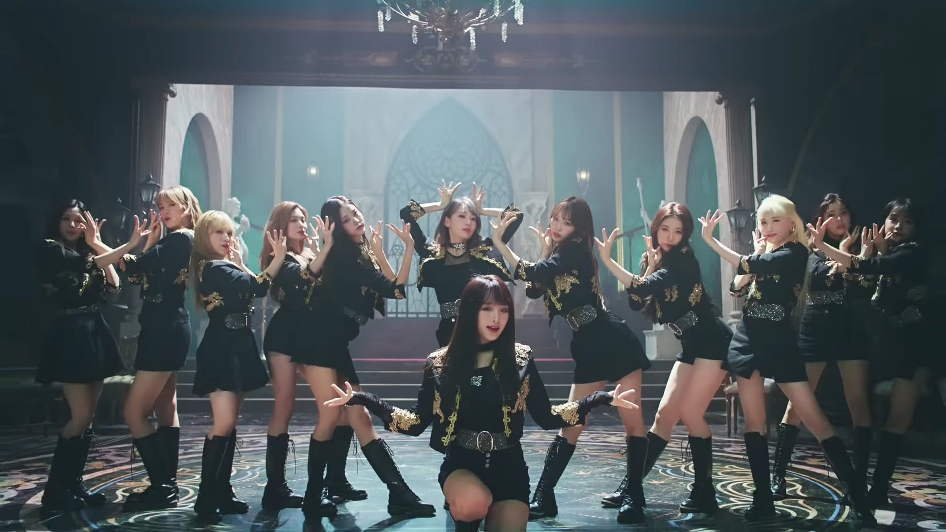 "WATCH: IZ*ONE Sends Out Mysterious ""Vampire"" MV Ahead Of Japanese Comeback"