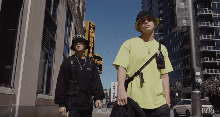 """WATCH: KARD's BM And J.Seph Hit The Streets In Hype """"Inferno"""" MV"""
