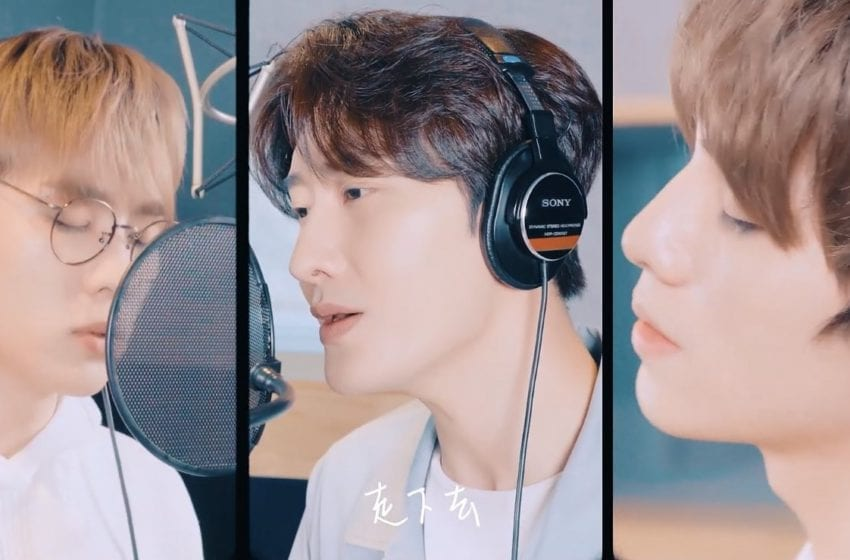 "WATCH: Super Junior M's Zhoumi Collaborates With WayV's Kun And Xiaojun For Encouraging ""I'll Be There"" Special Track"