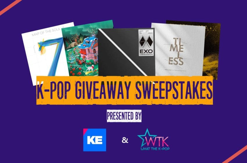 KE x WTK Present: K-pop Giveaway Sweepstakes! Win Prizes From BTS, EXO, NCT, Red Velvet, Super Junior, ATEEZ, & More!