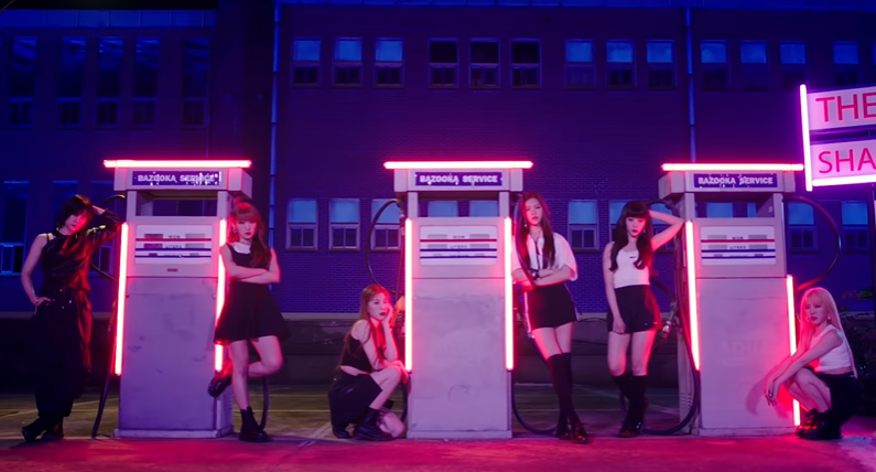 "WATCH: GWSN Takes Their Shot In Neon-Lit ""Bazooka"" Music Video"