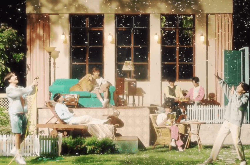 """WATCH: BTS  Brings Comfort And Courage in """"Stay Gold"""" Japanese MV"""