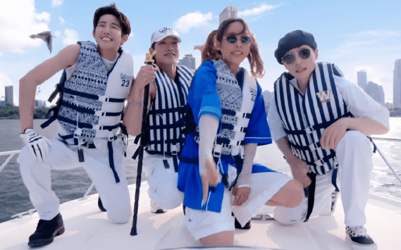 "WATCH: SSAK3 (Lee Hyori, Rain, Yoo Jaesuk) And S.B.N. (Kwanghee) Savor The Sea Breeze ""In Summer"" Music Video"
