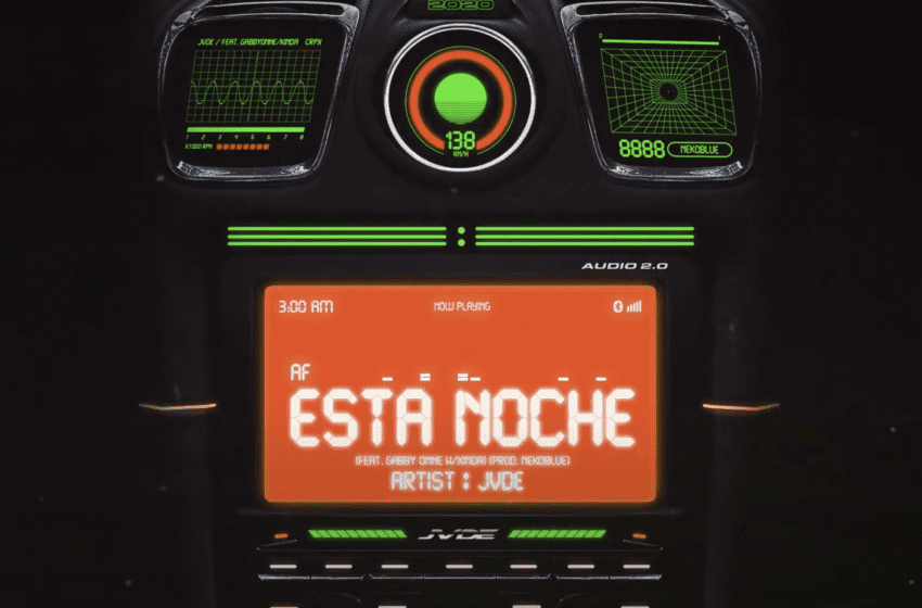 "LISTEN: Jvde Drops Second Digital Single ""Esta Noche""  Featuring Gabby Onme"