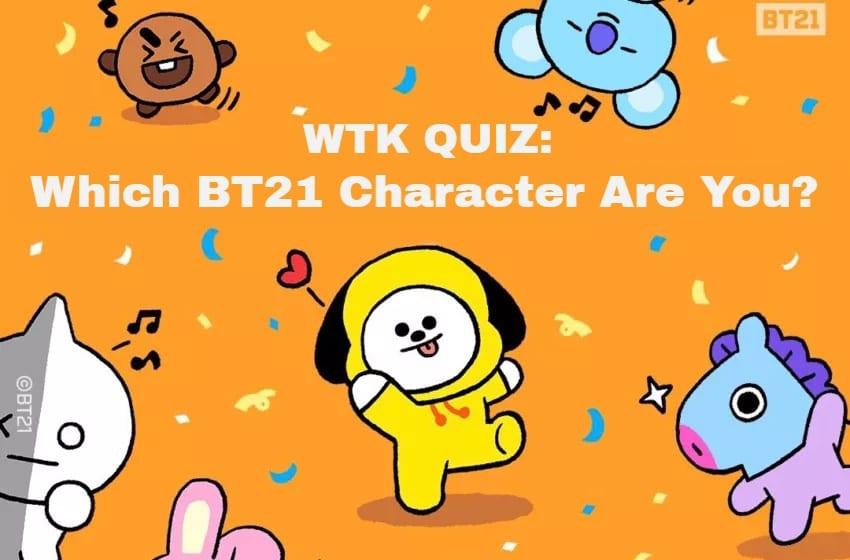 WTK QUIZ: Which BT21 Character Are You?