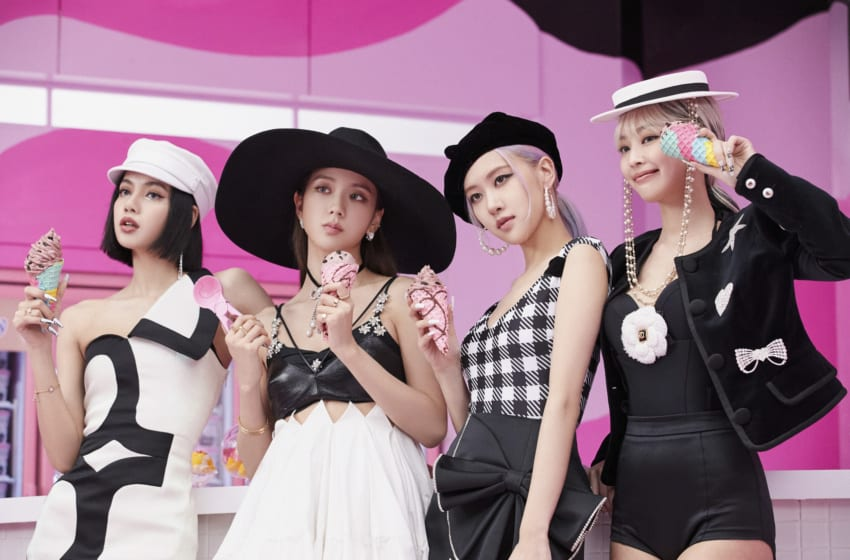 """Get The Look (For Less!): BLACKPINK And Selena Gomez's Chic Style In """"Ice Cream"""""""