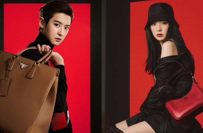 EXO's Chanyeol And Red Velvet's Irene Are New Ambassadors For Prada In Photoshoot For VOGUE