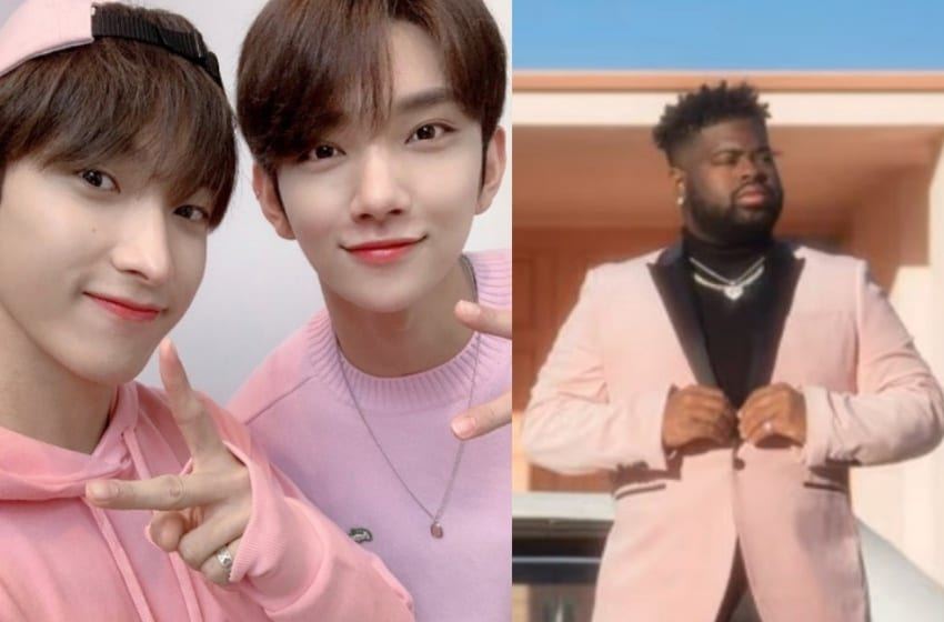 "LISTEN: SEVENTEEN's Joshua And DK Team Up With Pink Sweat$ For New Version Of ""17"""