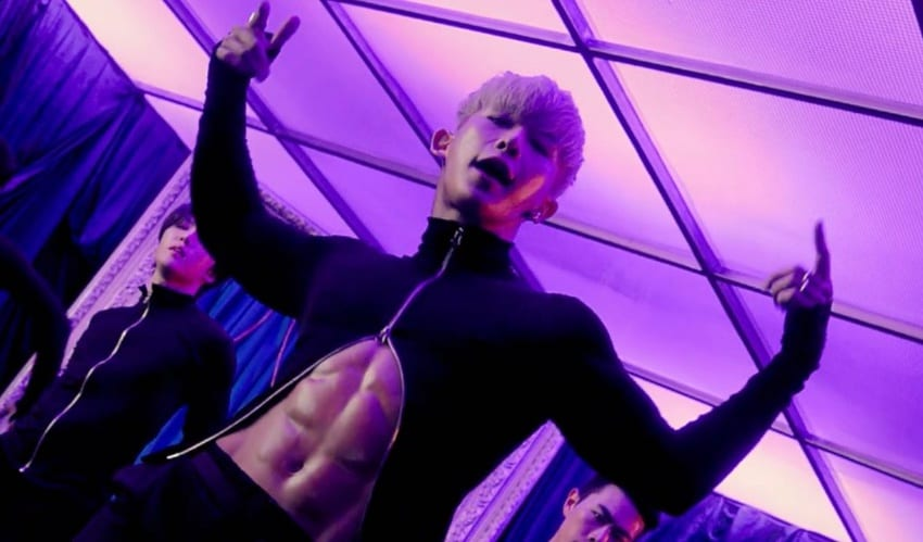 "WATCH: Wonho Intoxicates  With Seductive ""Open Mind"" MV"