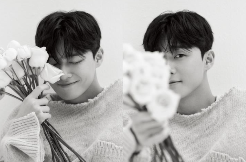 Park Seo Joon Captivates In New Chanel N°5 Photoshoot For ELLE Korea