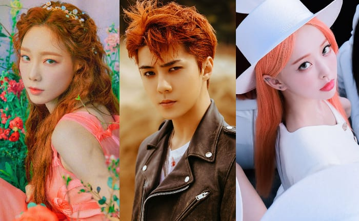 26 K-Pop Idols Who Rocked Orange Hair